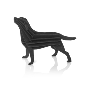 Labrador, svart 15 cm